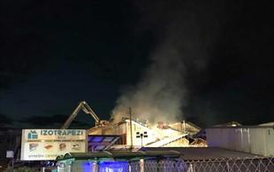 Požar v ljubljanskih Stegnah povzročil za vsaj 600.000 evrov škode!