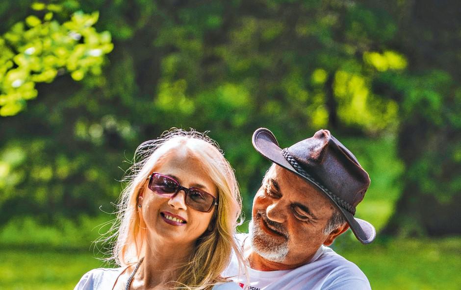 Poglejte si, kako moža pokojne Simone Weiss razvaja nova srčna izbranka (foto: osebni arhiv)