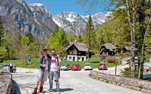 Jani Jugovic in Gašper Bergant sta začela hoditi v hribe