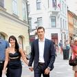 Goran Dragić v mestu ljubezni s svojo drago!