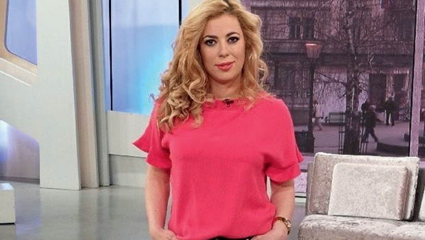 Ta modna kombinacija Ane Tavčar Pirković je kot naročena za pomladne dni (foto: Osebni arhiv)