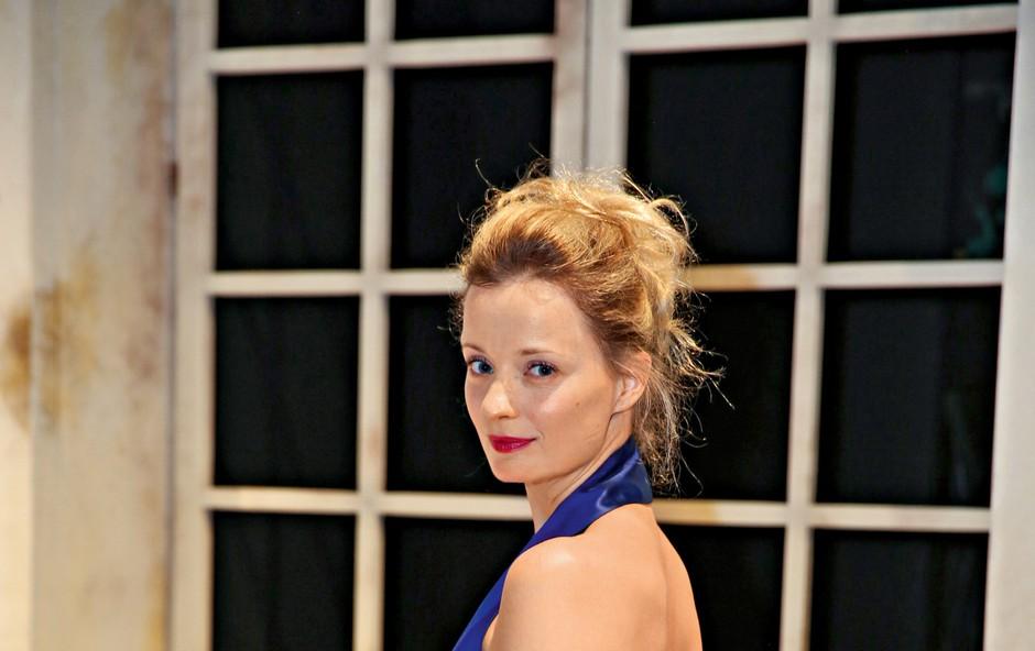 Ajda Smrekar: V njen dom gledališče ne vstopa (foto: Helena Kermelj)