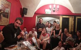 FOTO: S Šaleharjem na predstavitvi njegove knjige v Klubu Daktari!