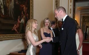 Kylie Minogue na večerji s princem Williamom