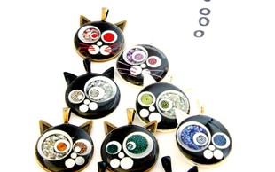 Ustvarjalka Nina Gumzej: Mačke so moje muze!