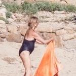 Goldie Hawn pri 72 letih na plaži prava morska sirena (foto: Profimedia)
