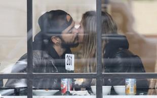 Heidi Klum in njen mladi ljubimec sta se med zajtrkom skoraj pojedla