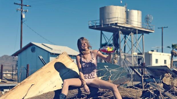 Ana Colja: Uspešna manekenka na naslovnici Playboya (foto: Aleš Bravničar)