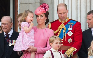 Princesa Charlotte že postaja mala modna ikona