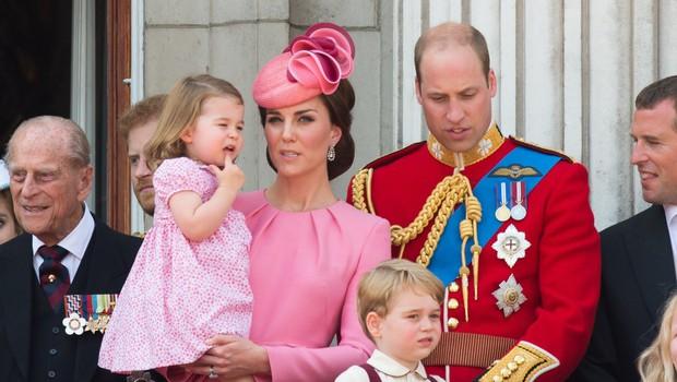 Princesa Charlotte že postaja mala modna ikona (foto: Profimedia)