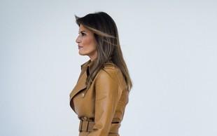 """Melania Trump razburja javnost z izbiro jakne, na kateri piše """"Res mi je vseeno""""!"""