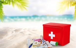 Dopustniški čas: Kaj damo v lekarniško torbo?