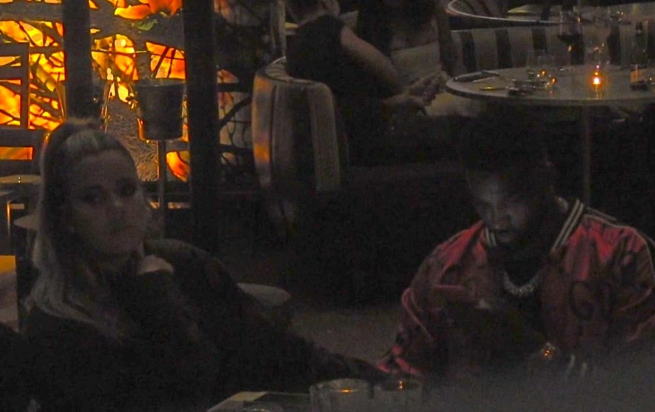 Khloe Kardashian na večerji s Tristanom Thompsonom kazala žalosten obraz (foto: Profimedia)