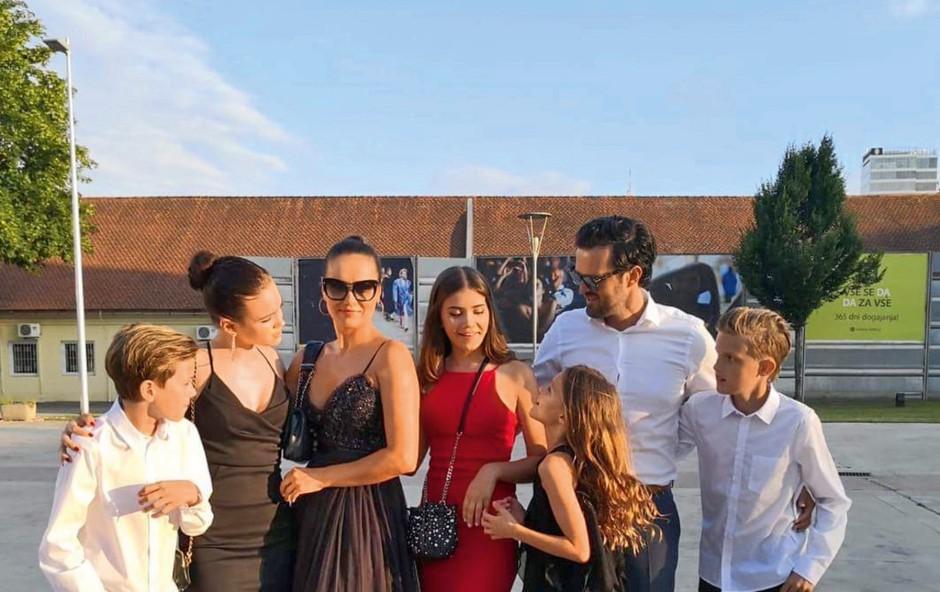 Alenka in Jure Košir skupaj na hčerkini valeti! (foto: Osebni arhiv)