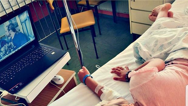 Zaradi Šanajine bolezni Rebeka Dremelj prekinila počitnice (foto: osebni arhiv)