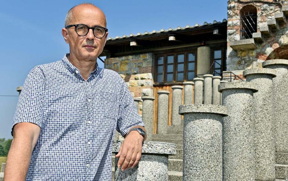 Dr. Bogo Zupančič: Plečnikova arhitektura  je nabita s pomeni (foto: igor Zaplatil)