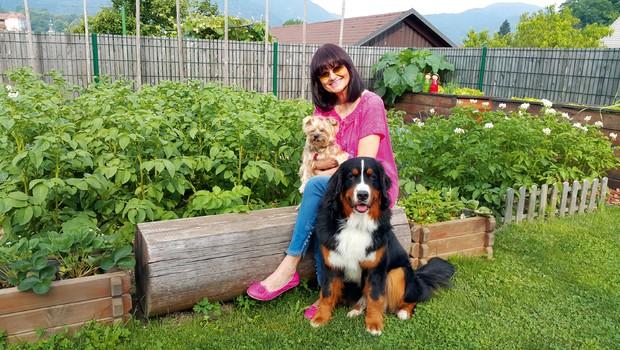 Nataša Bešter: Živali nam vse vračajo dvojno! (foto: osebni arhiv)