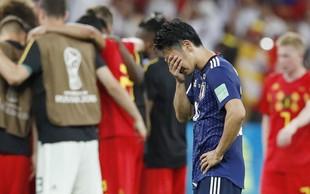 Japonska ob porazu nogometašev na svetovnem prvenstvu v šoku!