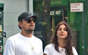 Leonardo DiCaprio je srečen s svojo mlado lepotico!