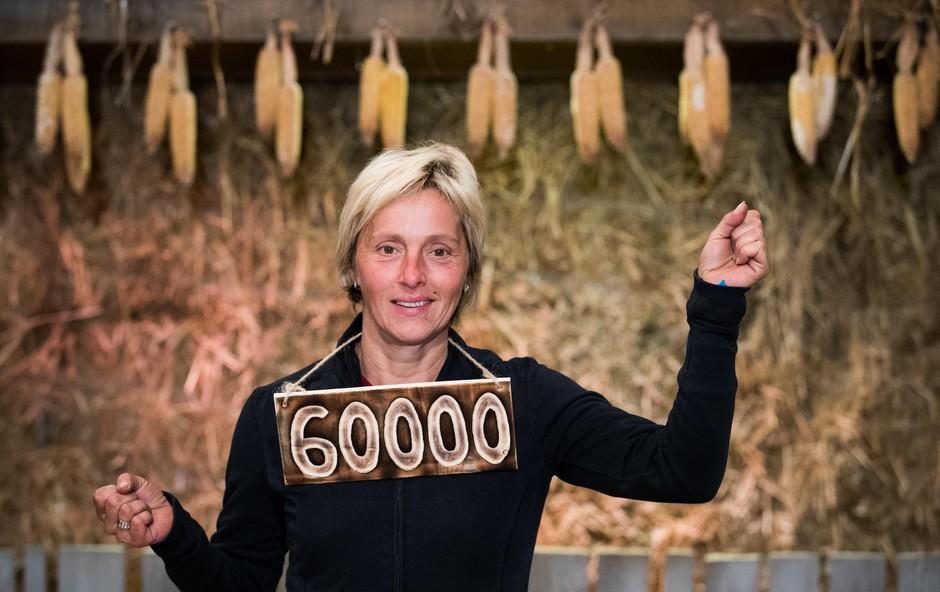 Lanska zmagovalka Kmetije si je kupila novega audija A6! (foto: Proplus)