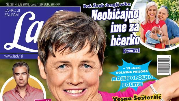 Vesna Šošterič (Ljubezen po domače): V fačuzi raje z Miho! (foto: Lady)