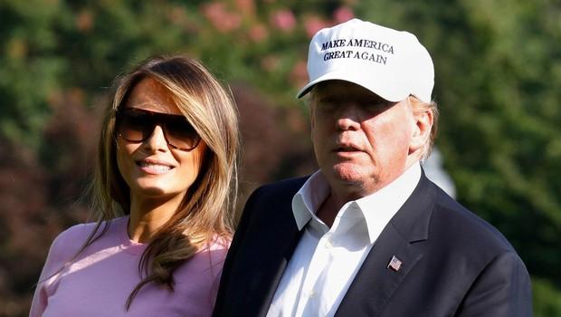 Melania Trump za fotografije prejela najmanj 100.000 dolarjev (foto: profimedia)