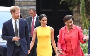 Rumena obleka Meghan Markle o kateri vsi govorijo