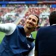 Ibrahimović in Beckham sklenila stavo: nakup v Ikei ali riba s krompirčkom