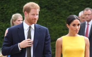 Na dan prišlo, kaj sta Meghan Markle in princ Harry zapisala v zahvalnem pismu
