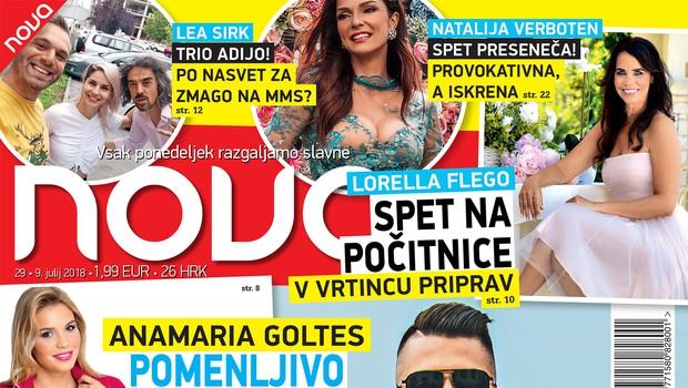 Anamaria Goltes: Pomenljivo sporočilo Luki Dončiću (foto: Nova)