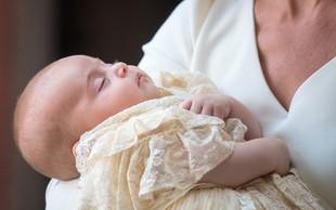 Malega Louisa so krstili brez prisotnosti kraljice Elizabete II.