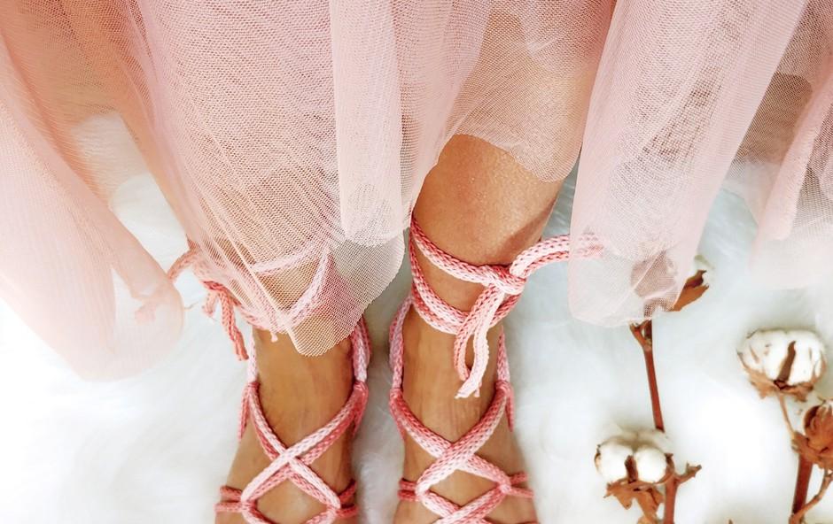 Za unikatne noge - unikatni čevlji! (foto: osebni arhiv)
