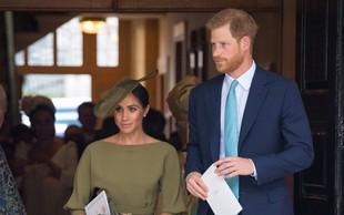 Meghan Markle s svojo podobo jemala dih na krstu princa Louisa