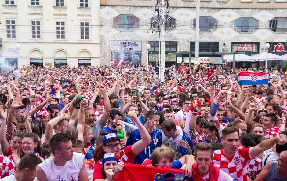 Na Hrvaškem prava eksplozija navijaškega navdušenja! (foto: Profimedia)