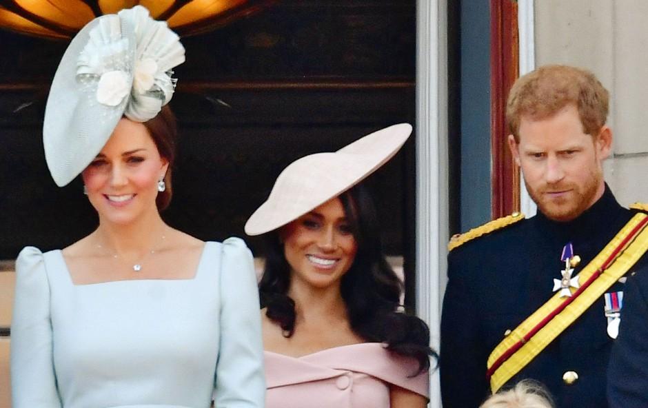 Napeti odnosi med Meghan Markle in vojvodinjo Kate! (foto: Profimedia)