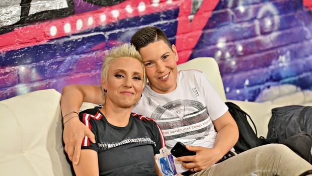 """Tatjana Mihelj (Nova zvezda Slovenije): """"Da, poročili se bova!"""" (foto: Jasmina Ložar Povše, Mateja Jordović Potočnik; David Verlič)"""