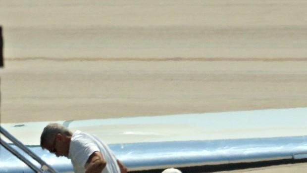 George Clooney po nesreči z motociklom odšepal s Sardinije (foto: Profimedia)