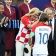 Luka Modrič in Sandra Perkovič najboljša športnika Hrvaške