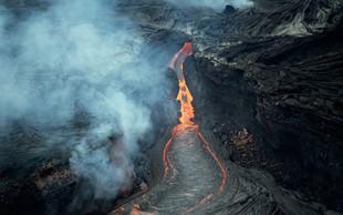 Na Havajih zaradi lave poškodovanih 23 turistov