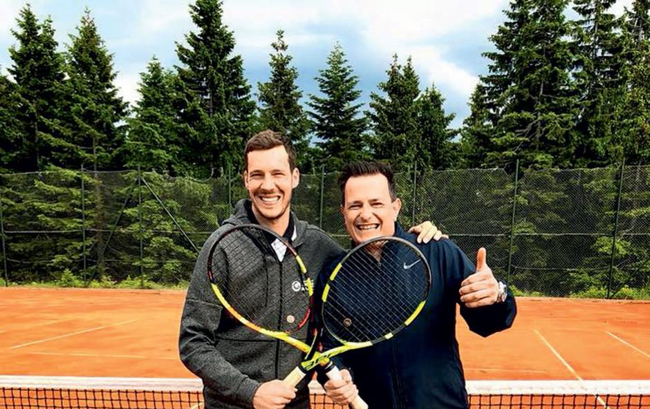 Rado Mulej je postal teniški ambasador (foto: Aleš Kocbek)