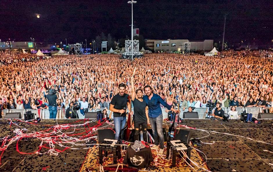 2Cellos: Vrhunski spektakel pod zvezdami! (foto: Jaka Ivančič, Matia Ščukovt, Tomaž Primožič – FPA, osebni arhiv izvajalca)