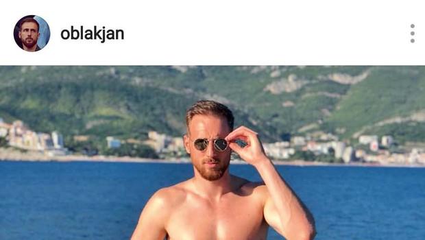 Jan Oblak: Med počitnicami je bolj malo spal! (foto: osebni arhiv)