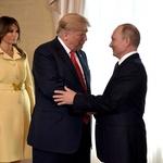 Zakaj je bila Melania Trump v Helsinkih do vratu zapeta? (foto: Profimedia)