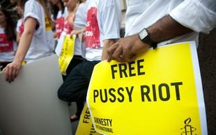 Rusija v primeru Pussy Riot kršila evropsko konvencijo o človekovih pravicah