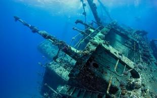 V Japonskem morju so našli pred več kot sto leti potopljeno carsko ladjo, polno zlata