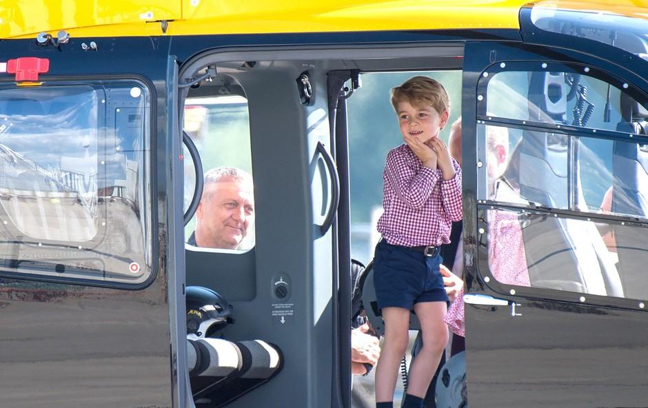 Te fotografije princa Georga verjetno še niste videli (foto: Profimedia)