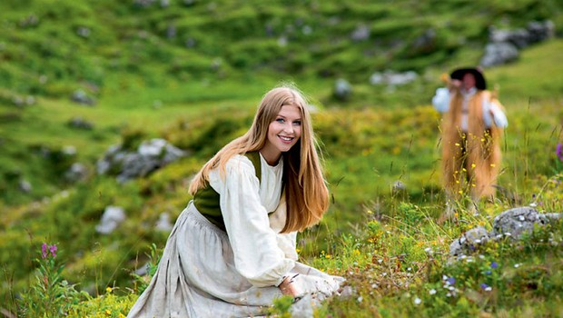 Maja Zupan (miss Slovenije): Nazaj v gore! (foto: Grega Eržen)