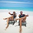 Rebeka Dremelj in Werner skupaj na dopustu