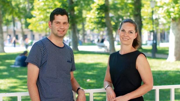 Dr. Katja Antlej in Damon Rousis: Ko se srečata Slovenija in Avstralija (foto: GORAN ANTLEY )