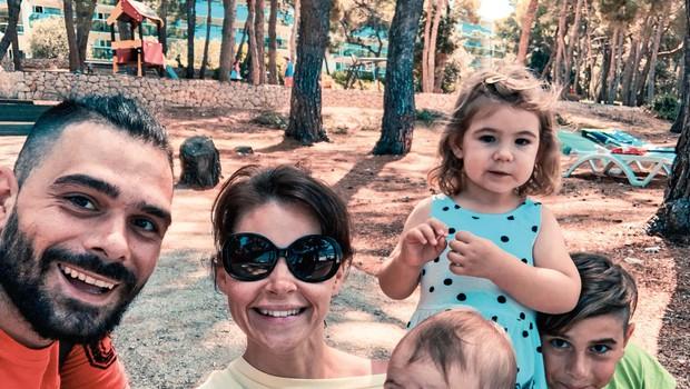 Jani Jugovic na družinskem dopustu (foto: osebni arhiv )